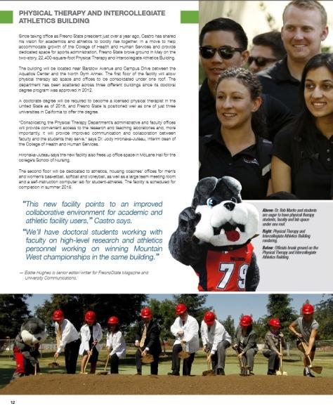 Courtesy of Fresno State Magazine, Fall 2014 Edition