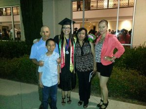 The Tapia Family in May 2014. Photo Credit: Tapia Family.