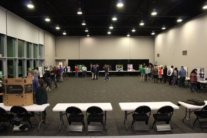 Students in Recreation Administration Showcase Projects