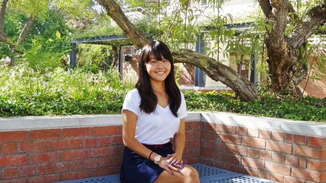 Meet Honors Scholar Riho Okamura!