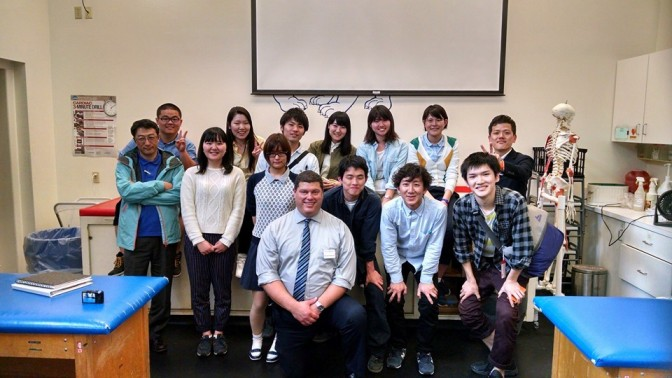 Visit from Japanese University provides global collaboration for Physical Therapy Department
