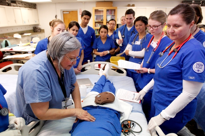 In the News: School of Nursing Ranked Among Best in Nation (video)