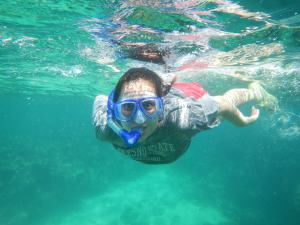 Snorkeling  Fun! / Photo Credit: fresnostaterca.com