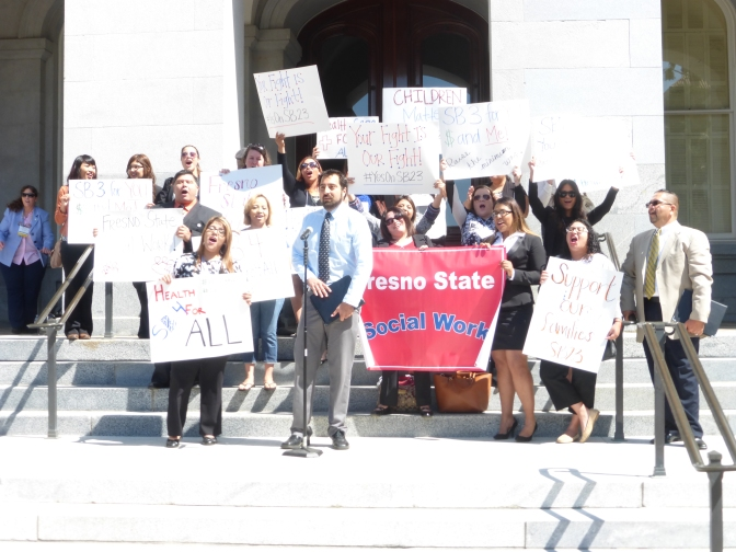 Social Work students making bold impact statewide