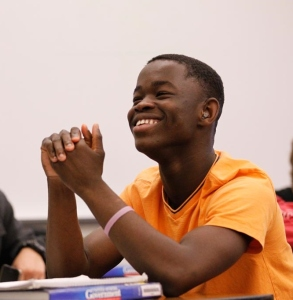 Emmanuel Akande. Photo Credit: Cary Edmondson, Fresno State Magazine