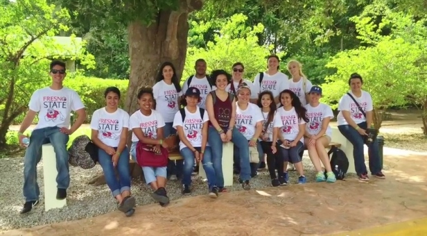 Fresno State Public Health students gearing up for their service learning project in the Dominican Republic.