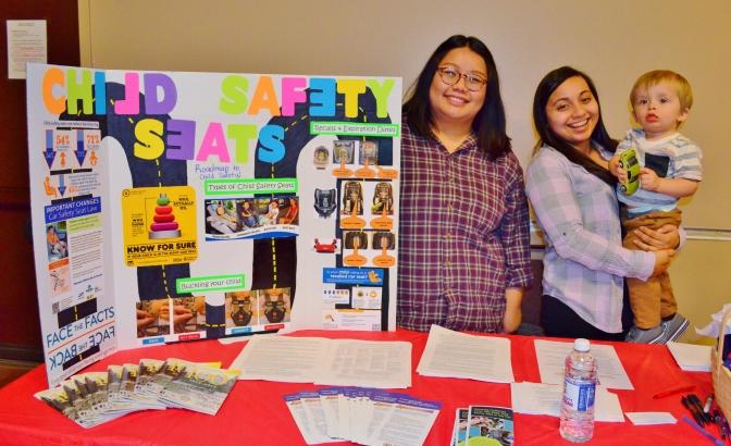 CHHS students educate peers in health & wellness