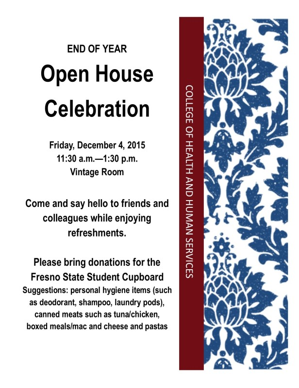 Open House End of Year Celebration2015