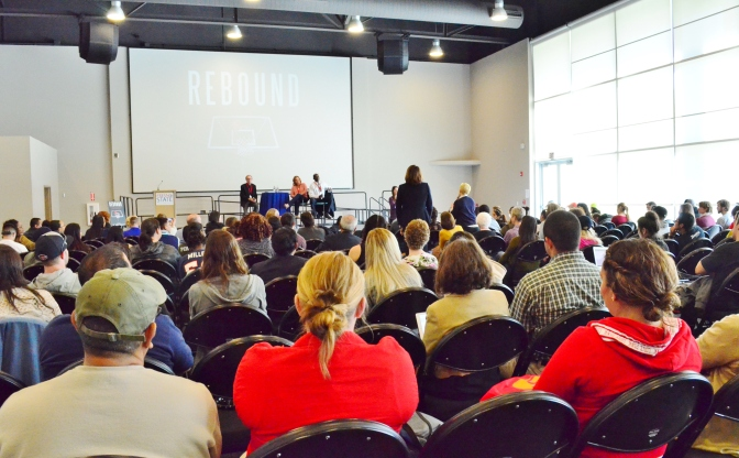 Live Well Lecture recounts Karl Johnson's story of hope & survival